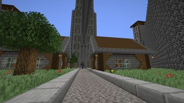 The 4 Tower Minecraft Map & Project