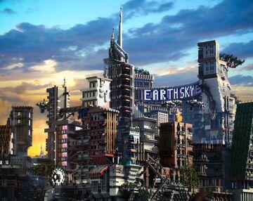 "New ""Cyberpunk"" project Minecraft Map & Project"
