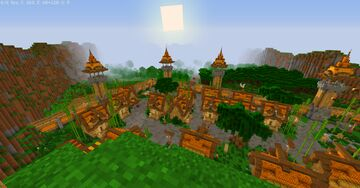 Bee Village Minecraft Map & Project