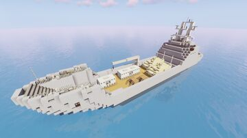 "Damen ""Landing Ship Logistic 80"" (1:1) Minecraft Map & Project"