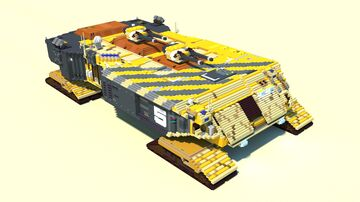 Battle Cruiser Minecraft Map & Project