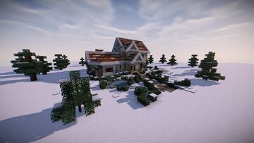 Christmas House Decoration Contest Entry Minecraft Map & Project
