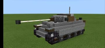 Pz.kfpw V Ausf.G Panther I (1.5:1 scale) Minecraft Map & Project