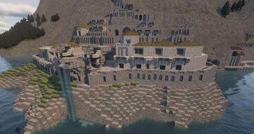 Sea Port Quarter Minecraft Map & Project