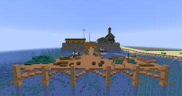 Tropico 6 Fishermen's Wharf Minecraft Map & Project