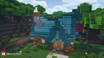 Fantasy Cottage Minecraft Map & Project