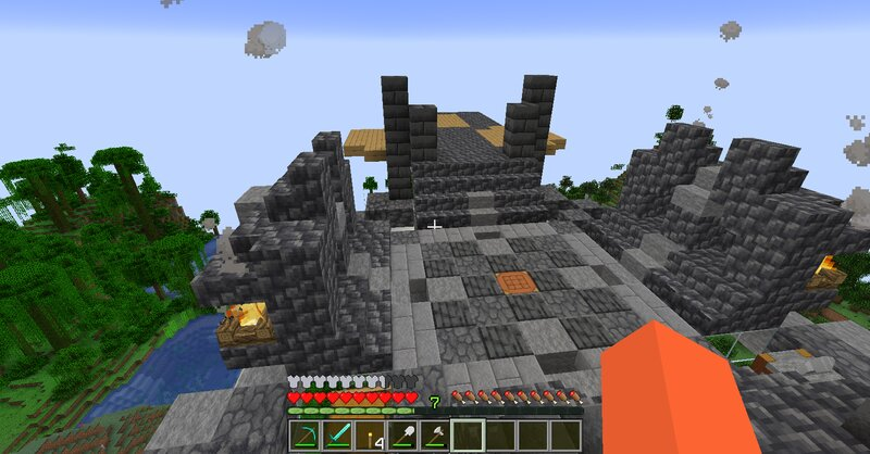 Working on my Wizard Tower