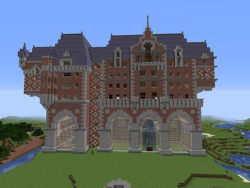 Mansion (1.15.2+) Minecraft Map & Project