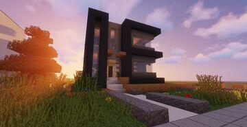 Modern House #91 Map + Schematics Minecraft Map & Project