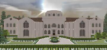 Modern Mansion 6 - Sandstone House Minecraft Map & Project