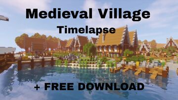 Albacois - Mediaval village Minecraft Map & Project