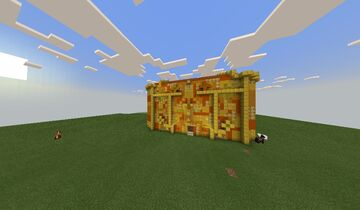 Palace for Nyan Cat movie Minecraft Map & Project