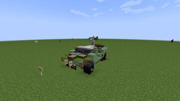 Halo | M12 FAV Warthog Minecraft Map & Project