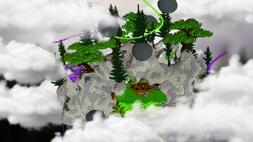 🟩 GREEN POISON LOBBY/HUB 🟩 Minecraft Map & Project