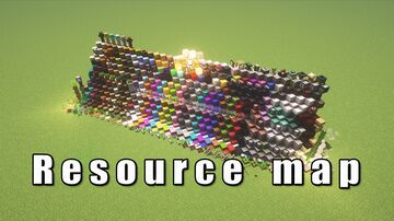 Resource & debug map Minecraft Map & Project