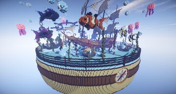 EggWars Hub Map [ Fantasy / Pirate ] Minecraft Map & Project