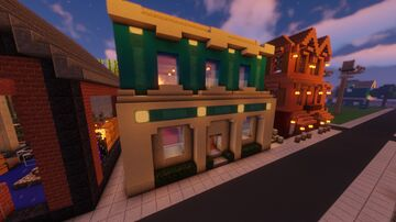eis style store - model 1 Minecraft Map & Project