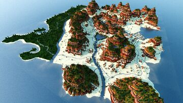 Mesa Desert Map [2000x2000] 1.16.5 Minecraft Map & Project