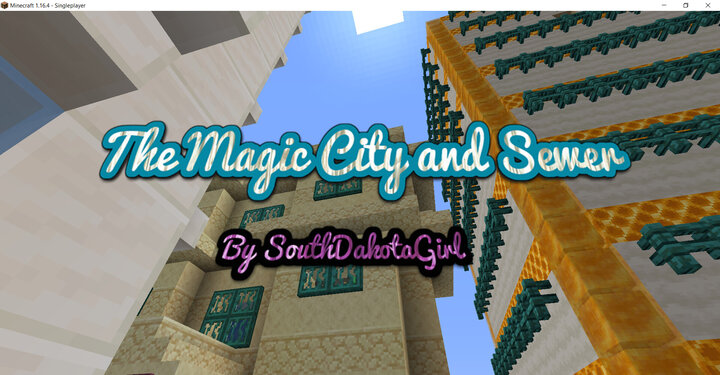The Magic City and Sewer By SouthDakotaGirl