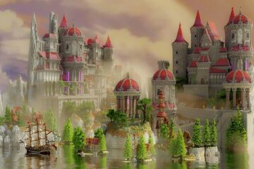 Pink Kingdom Minecraft Map & Project