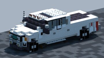 Ford F350 Lariat, pickup [With Download] Minecraft Map & Project