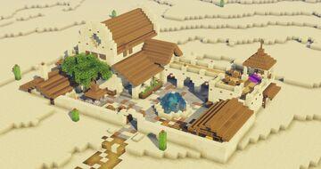 Desert Mansion Minecraft Map & Project