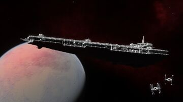 Vigilant-class Fictional Corvette (1:1 Scale) Minecraft Map & Project