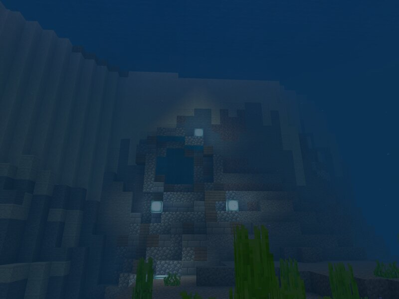 One of the Underwater Caves