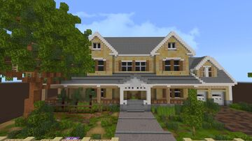 Suburban/traditional house ideas Minecraft Map & Project