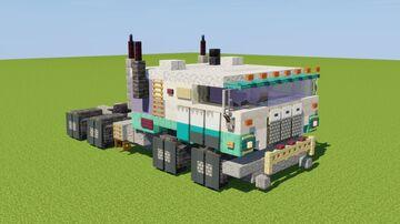 Double Lane Hauler Truck Minecraft Map & Project