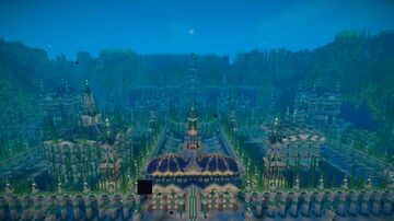 Emerald Palace (Underwater Palace) Minecraft Map & Project