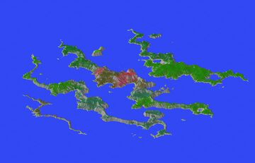 Las Cuatro Islas de la Muerte Minecraft Map & Project