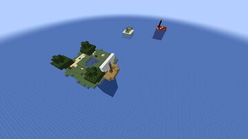 ISLAND ON SURVIVAL 1.17.1 Minecraft Map & Project