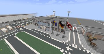 Airport Build #5 | Government Terminal Minecraft Map & Project
