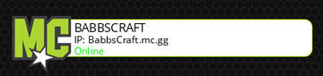 BabbsCraft! Come join we do everything Minecraft Server