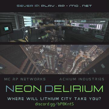 Neon Delirium: Cyberpunk Roleplay Minecraft Server