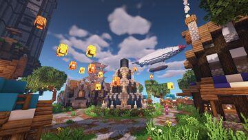 Wyscraft » Bedrock+Java, 100+ Custom Items/Mobs, Magic, Dungeons, Slimefun Minecraft Server