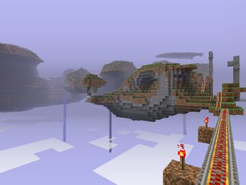 Minecraft Beta Sky (Floating Island) Server Minecraft Server