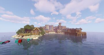 [1.16] [Island Survival] [Sharks] [Apartments] [Jobs] [Guns] [Grinding Server] Minecraft Server