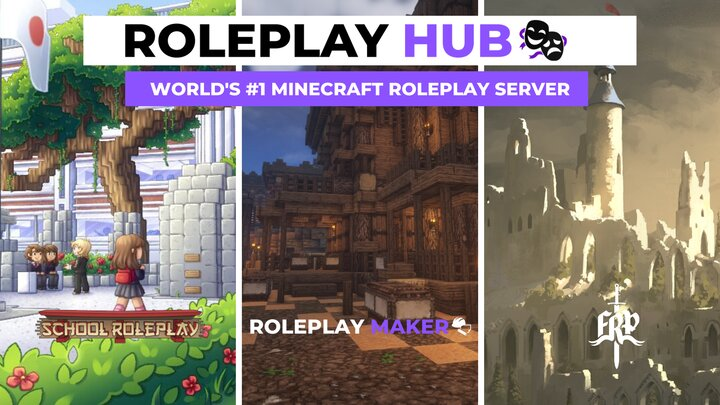 Roleplay Hub Schoolrp Roleplay Maker Fantasyrp Minecraft Server