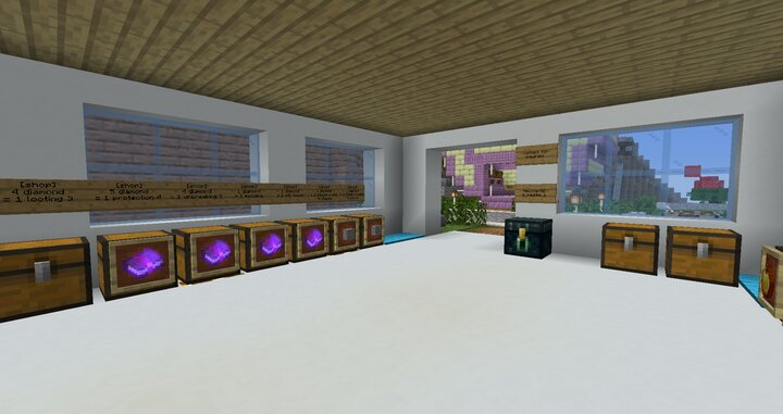 The interior of a shop owned by one of our players