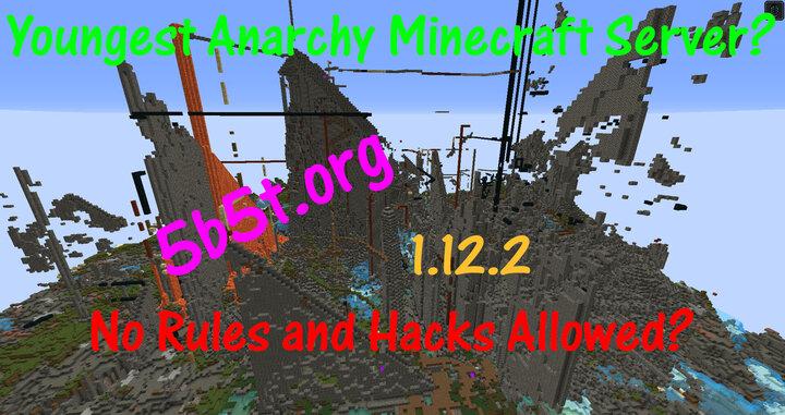 5b5t org Anarchy Server 1 12 2 1 16 5 Anarchy PVP