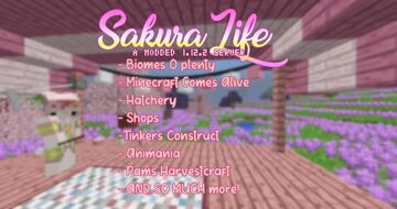 🌸 Sakura Life | A Modded 1.12.2 Survival Server 🌸 Minecraft Server