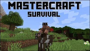 🏰 MASTERCRAFT SURVIVAL - ⛏ [MCMMO] - 🤠 [TOWNY] - 🌏 [DYNMAP] - 💰 [ECONOMY] Minecraft Server