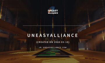 UneasyAlliance [Vanilla] [SMP] {1.16.5} {Semi-anarchy} {No Cheating} Minecraft Server