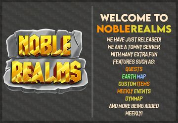 Noblerealms Earth Towny Minecraft Server
