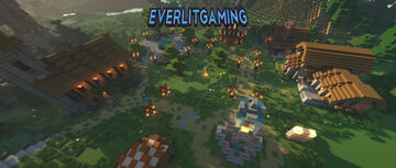 EverlitGaming | 1.15.2 | Towny | Quests | McMMO | Shops |  MobHunting | Pets Minecraft Server