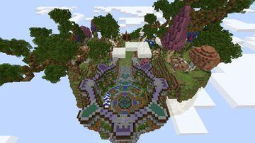 Fallen Realms Op Skyblock | 8 Islands | Gambling | Crates | Rewards Minecraft Server