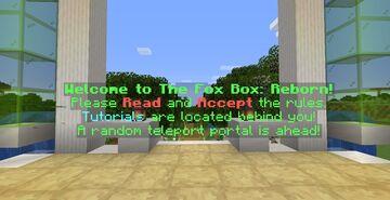 The Fox Box: Reborn Minecraft Server