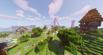Mineverse 1.15.2 [SMP] [PVP] {Towny} {mcMMO} {Minigames} {Creative World} Minecraft Server